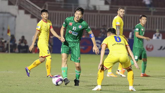 SLNA chào thua bộ đôi 75 tuổi của Sài Gòn FC
