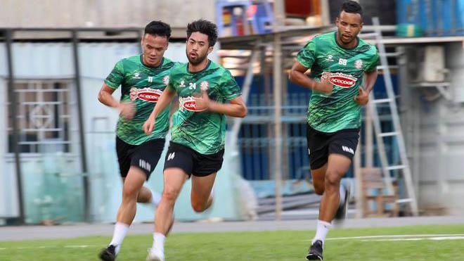 Lee Nguyễn, Hà Nội FC, Quang Hải, HAGL, Bình Dương, Bình Định, V-League 2021 trở lại, TPHCM, Park hang Seo, bóng đá hôm nay, đội tuyển Việt Nam