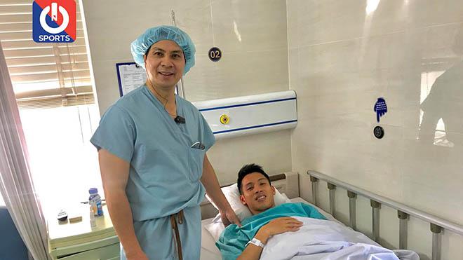 Hùng Dũng phẫu thuật thành công, có thể trở lại sau 6 tháng