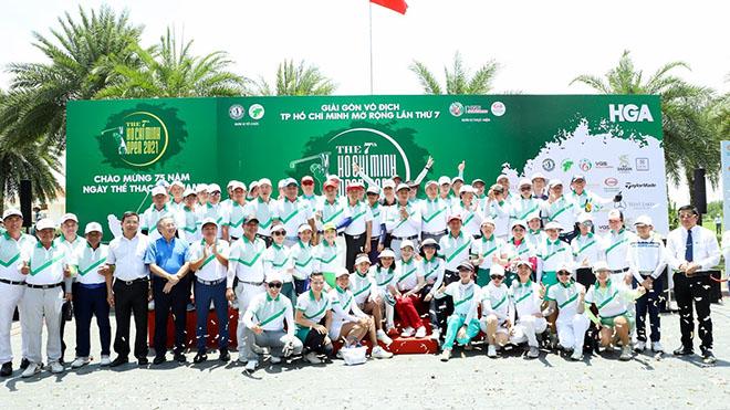 280 tay golf sẽ tranh tài ở giải vô địch TPHCM mở rộng 2021. Ảnh: HN