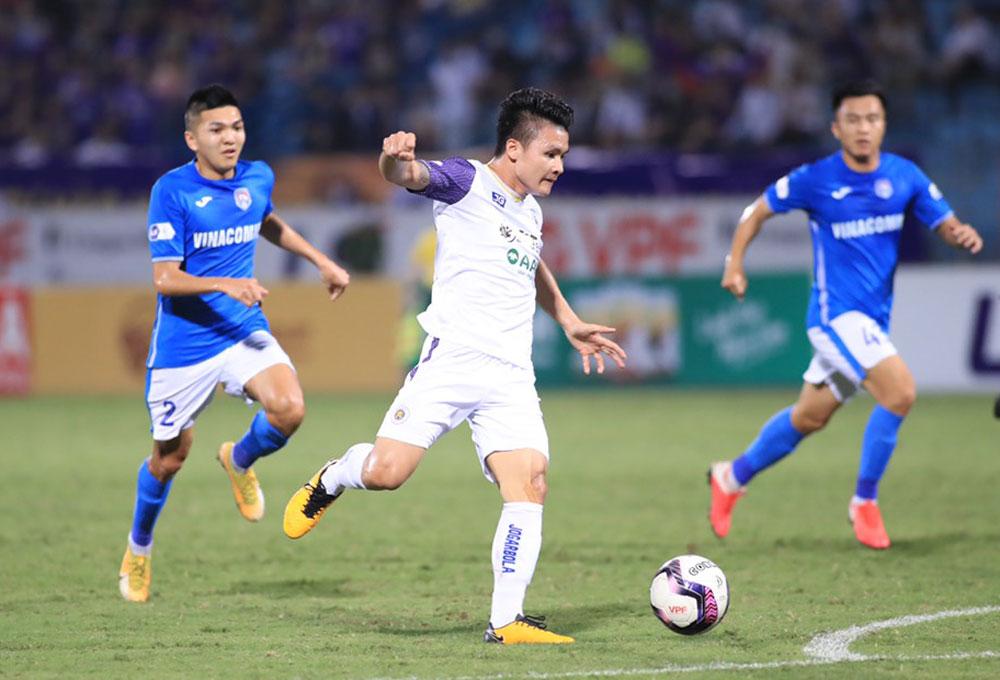 Quang Hải, Hà Nội FC, Hoàng Văn Phúc, Chu Đình Nghiêm, Kiatisak, Công Phượng, Văn Toàn, Tuấn Anh, HAGL, bảng xếp hạng vòng 10 V-league 2021