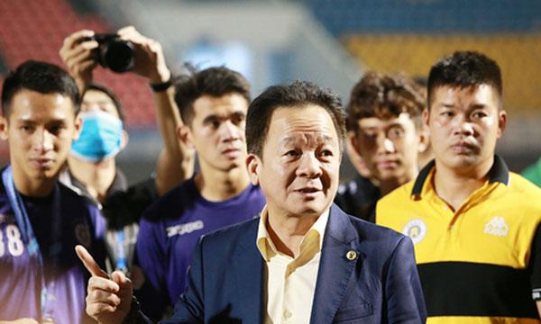 bầu Đức, HAGL, Hà Nội FC, HAGL vs Hà Nội, bóng đá hôm nay, bóng đá Việt Nam, tin bóng đá, tin tuc bong da, bảng xếp hạng V-League 2021, vòng 10 V-League 2021, bầu Hiển, bầu Đức
