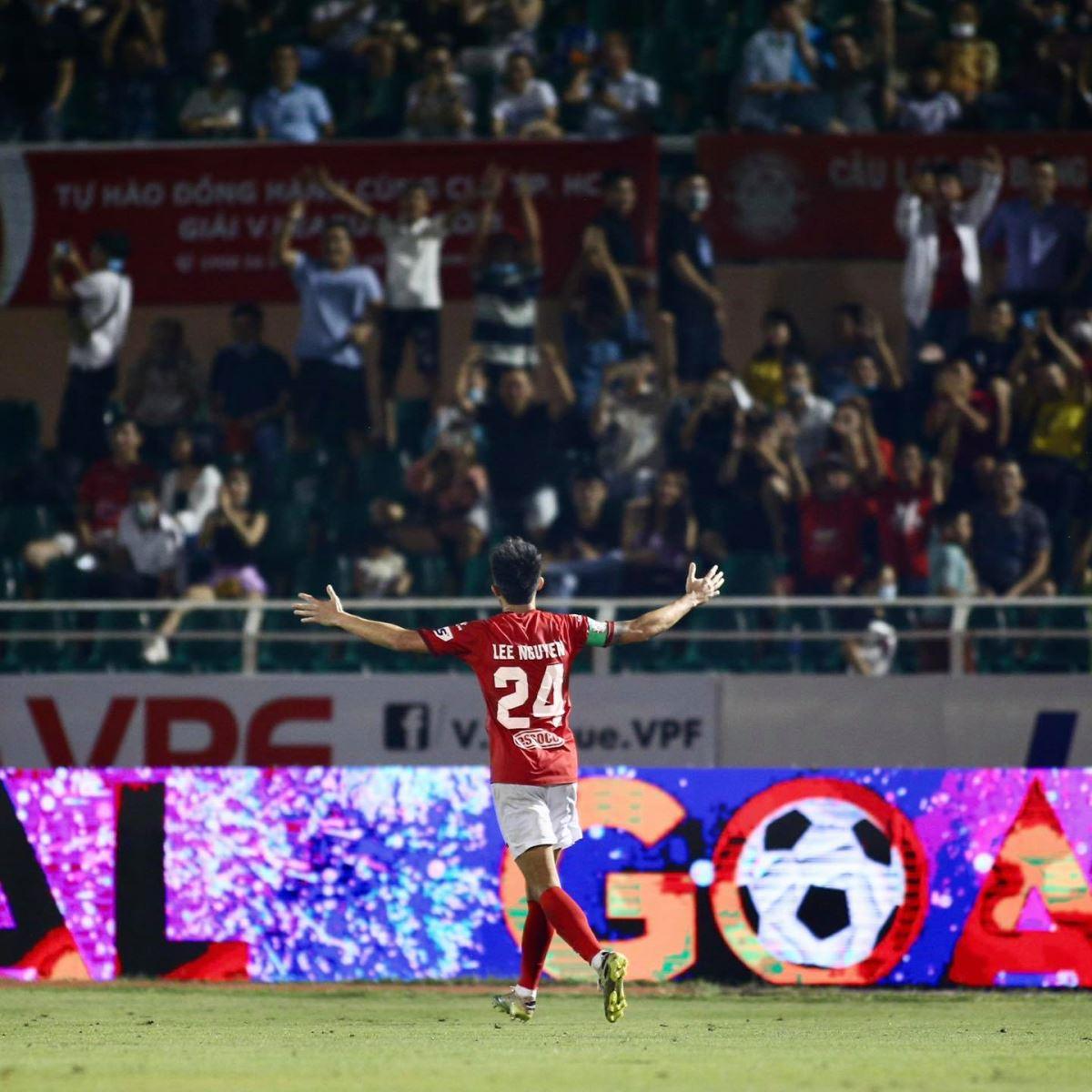 Lee Nguyễn, Polking, TPHCM, CLB TPHCM, bảng xếp hạng V-League 2021, lịch thi đấu vòng 9 V-League 2021