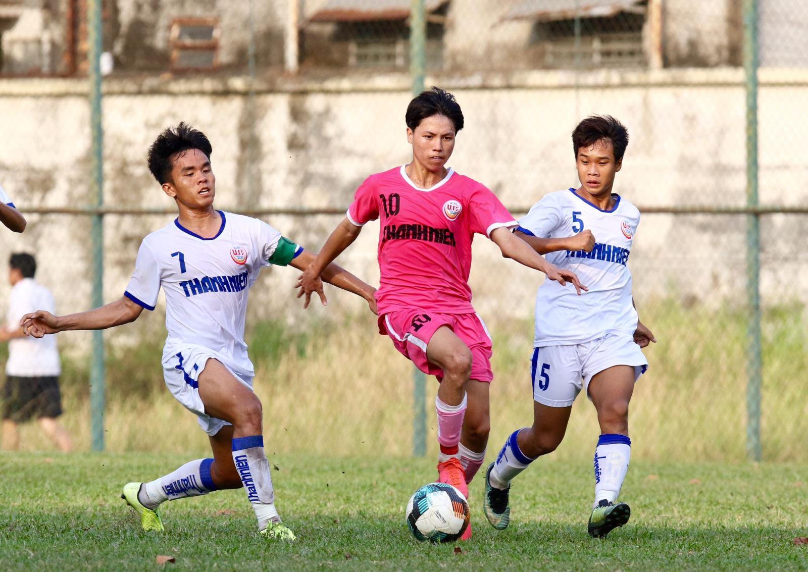 Sài Gòn FC cùng An Giang, Hà Nội FC là 3 đội bảng B vào tứ kết. Ảnh: Khả Hòa