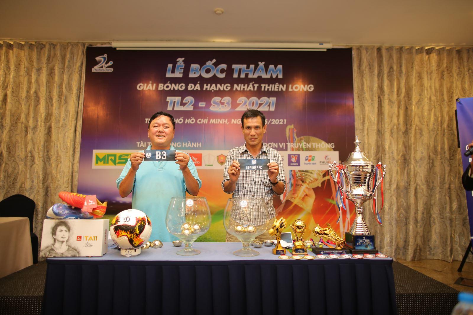 Giải Bóng đá Hạng nhất Thiên Long 2021 sẽ có 8 đội tham dự. Ảnh: Anh Phương