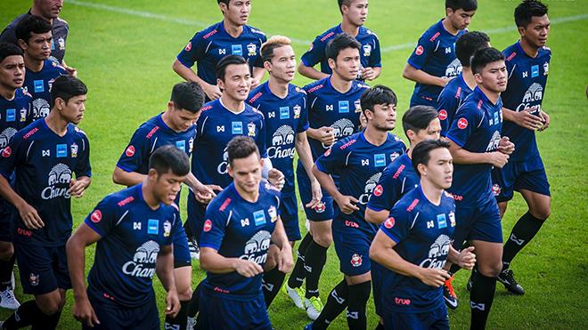 Tuyển Thái Lan đối mặt thử thách tại vòng loại World Cup