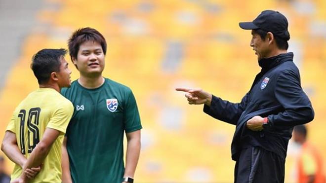 HLV Nishino đặt mục tiêu đưa Thái Lan dự World Cup 2026