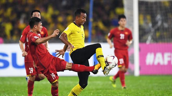 Đội tuyển Việt Nam không thua Malaysia từ năm 2016 tới nay. Ảnh: Hoàng Linh