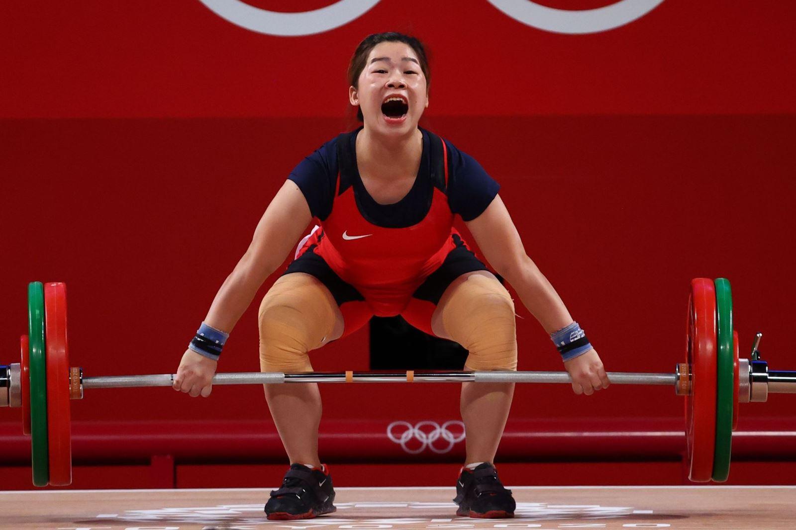 Hoàng Thị Duyên, Olympic Tokyo 2021, thể thao Việt Nam, Đoàn thể thao Việt Nam, cử tạ, cử tạ Việt Nam, nội dung cử tạ, Thạch Kim Tuấn, huy chương Olympic Tokyo