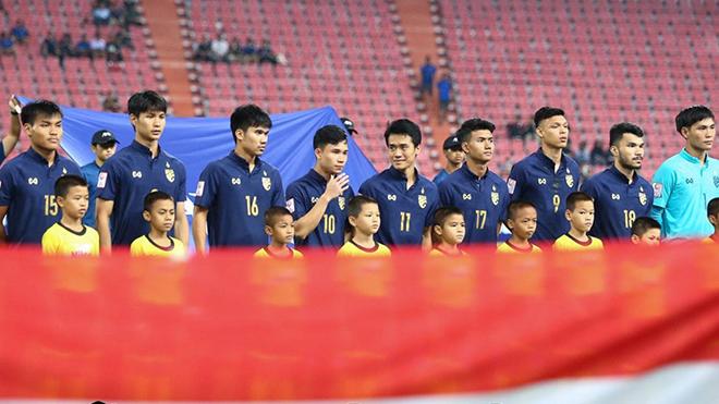 Thái Lan triệu tập cầu thủ gấp đôi U22 Việt Nam