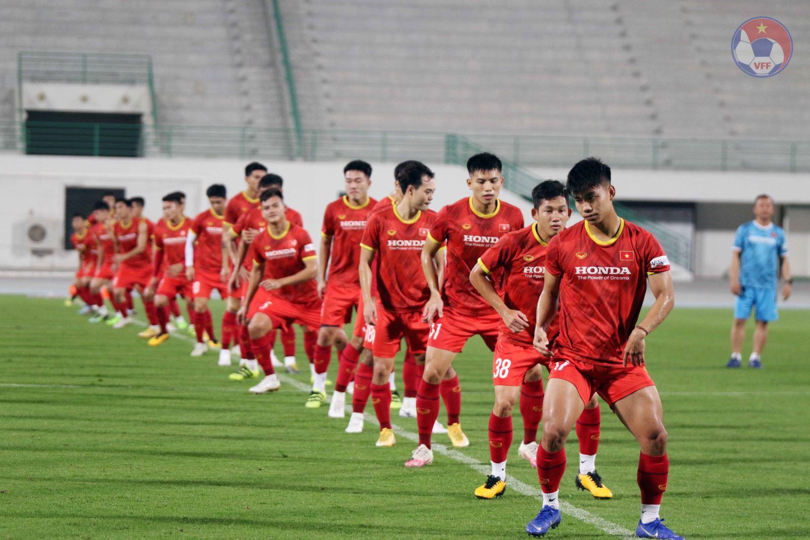Đội tuyển Việt Nam cần tự tin với lợi thế sân nhà khi tiếp Australia lúc 19h00 tối 7-9 ở Mỹ Đình. Ảnh: VFF