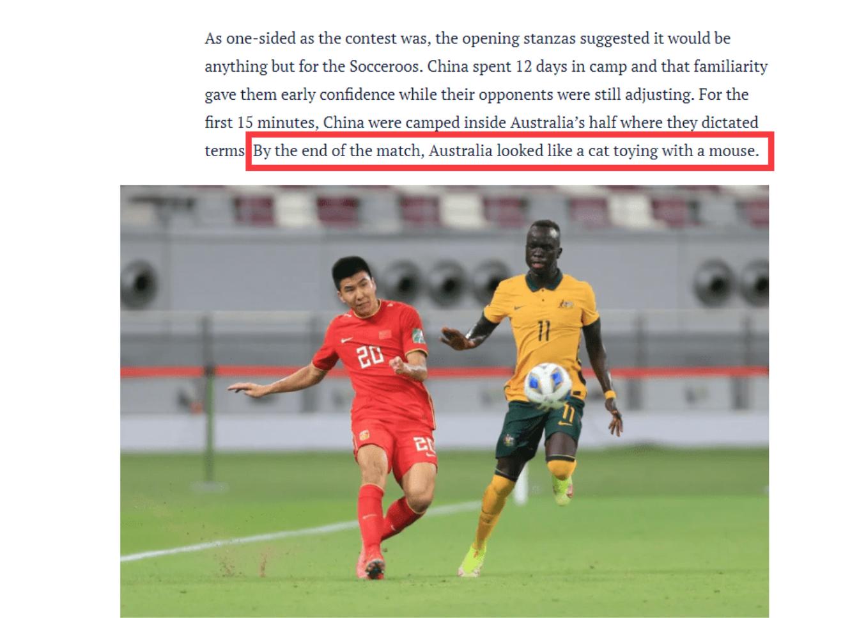 Báo chí Australia xem nhẹ đội tuyển Trung Quốc sau trận thắng đậm 3-0 ngày ra quân. Ảnh: Sydney Morning Herald
