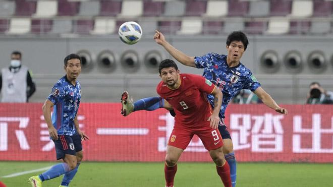Dù có nhiều ngoại binh nhập tịch nhưng Trung Quốc đang thể hiện sự nghèo nàn trong lối chơi ở vòng loại thứ 3 World Cup 2022 và đang xếp cuối bảng B sau 2 trận thua. Ảnh: AFC