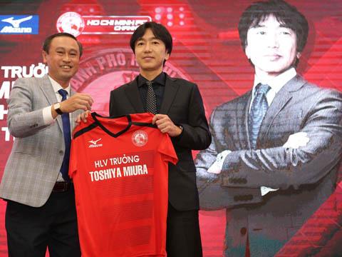 HLV Miura bắt tay vào công việc mới từ ngày 8/1 với TP.HCM