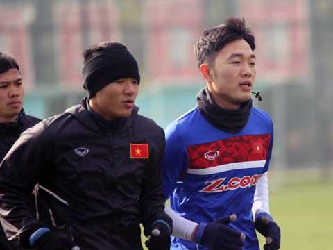 Hà Đức Chinh là tiền đạo số 9 đích thực của bóng đá Việt Nam hiện tại. Ảnh: Nhật Đoàn