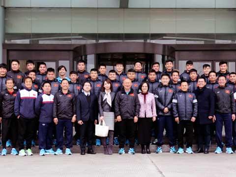 U23 Việt Nam sẵn sàng cho VCK U23 châu Á tại Trung Quốc. Ảnh: Nhật Đoàn