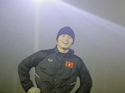 """""""Dị nhân"""" Nguyễn Quang Hải là của hiếm của bóng đá Việt Nam. Ảnh: Nhật Đoàn"""