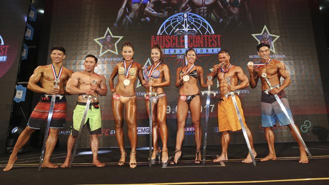 Hoa khôi Lan Khuê chấm 'Hot girl' Việt đoạt giải thể hình quốc tế Muscle Contest