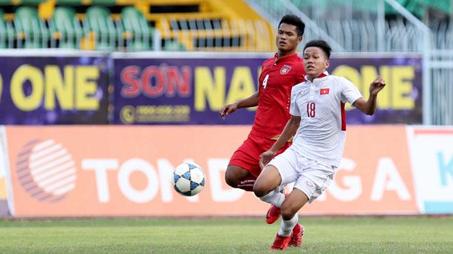 U19 Việt Nam hòa thất vọng U19 Myanmar