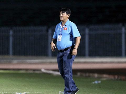 Tuy nhiên, HLV Trần Minh Chiến tuyên bố sẽ không khoan nhượng mọi đối thủ, dù đó là U21 Việt Nam. Ảnh: Anh Lập