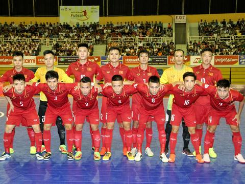 Đội tuyển futsal Việt Nam hướng tới VCK futsal châu Á không có quá nhiều sự thay đổi so với kỳ tập trung AFF Cup gần nhất. Ảnh: HK