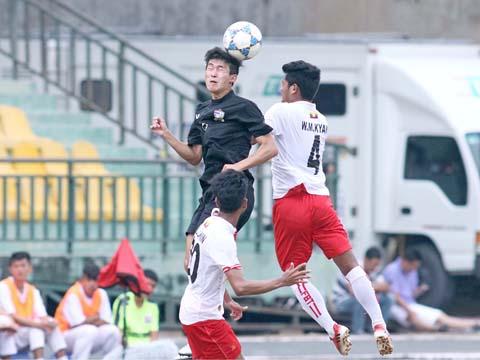 U21 Thái Lan chỉ nhận hạng 4 giải U21 Quốc tế năm nay thay vì chức Á quân như mùa giải năm ngoái. Ảnh: Dương Thu