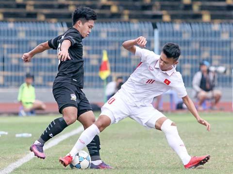Tuy nhiên U19 Việt Nam được đánh giá rất có tương lai. Ảnh: Dương Thu