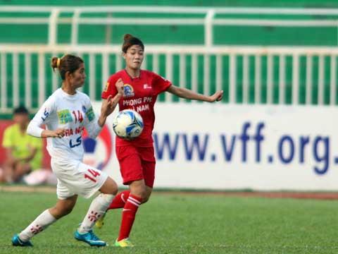 Hà Nội 1 và Phong Phú Hà Nam không dễ đứng yên nhìn TP.HCM 1 bảo vệ thành công chức vô địch năm thứ 3 liên tiếp. Ảnh: Duy Anh