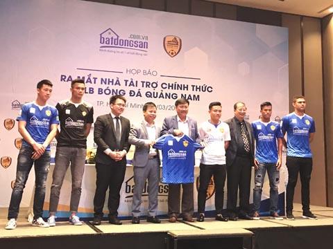Quảng Nam hy vọng động lực này sẽ giúp họ có vị trí từ 1 đến 3 ở V-League 2018. Ảnh: Bình Minh
