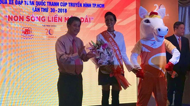 Hoa hậu hoàn vũ H'Hen Niê là Đại sứ giải xe đạp lớn nhất Việt Nam
