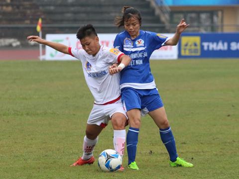 Than khoáng sản Việt Nam là đội bóng rất có tiềm năng sau khi trẻ hóa. Ảnh: Duy Anh