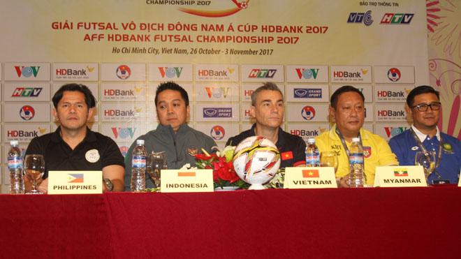 Futsal Việt Nam vẫn ngán ngại Thái Lan