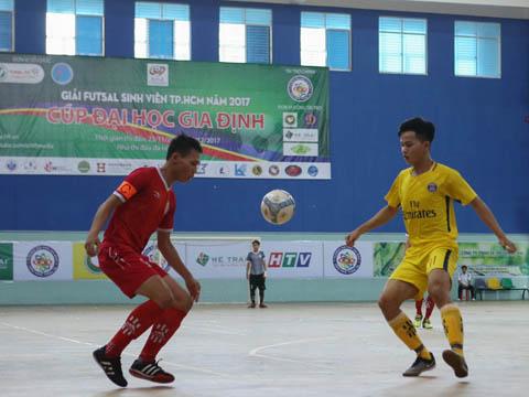Giải futsal sinh viên là nơi ươm mầm tài năng cho futsal Việt Nam. Ảnh: Duy Anh