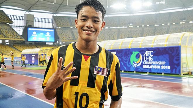 Luqman Hakim là tài năng sáng giá của bóng đá Malaysia
