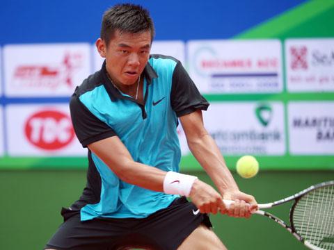 Hoàng Nam không thể vô địch 1 trong 3 giải Men's Future tổ chức trên sân nhà năm nay. Ảnh: Quang Liêm
