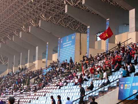 Phong Phú Hà Nam sẽ rất lợi hại với ưu thế sân nhà khi đối đầu TP.HCM 1 ở trận chung kết. Ảnh: Duy Anh