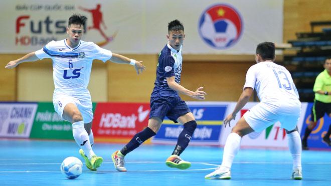 Thái Sơn Nam ca khúc khải hoàn ngày khai mạc giải futsal TP.HCM mở rộng 2017