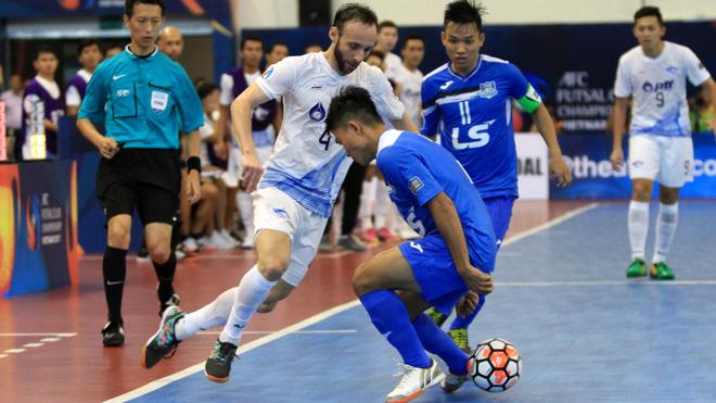 Futsal Việt Nam vẫn bị khuất phục bởi người Thái