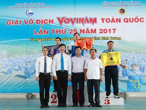 Đoàn TP.HCM vẫn giữ được ngôi vị số 1 trong làng võ Việt. Ảnh: B.M