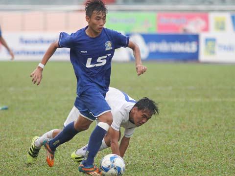 PVF vượt qua Tây Ninh để có mặt ở trận chung kết U15 Quốc Gia 2017. Ảnh: Quang Phương