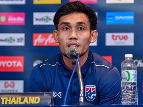 Đội trưởng Dangda chỉ có 3 pha lập công sau 12 trận ở Thai League 2019. Ảnh: Thailan