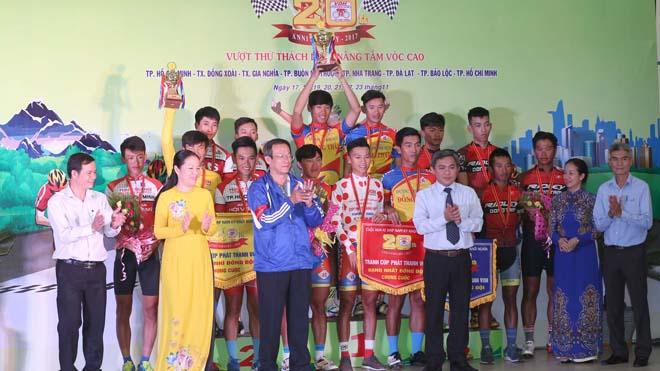 Hơn đối thủ 2 giây, Thanh Điền có Áo vàng giải xe đạp Nam Kỳ khởi nghĩa 2017