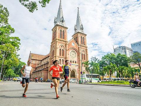 Giải marathon quốc tế TP.HCM Techcombank 2017 có ý nghĩa lớn với thể thao và du lịch thành phố