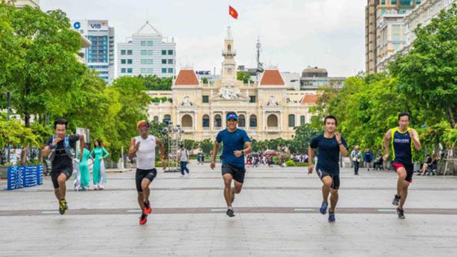 TP.HCM tổ chức giải Marathon quốc tế lớn nhất năm 2017