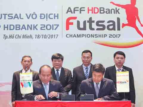 Giải futsal vô địch Đông Nam Á sẽ diễn ra từ ngày 26/10 đến 3/11 sắp tới. Ảnh: Q.L