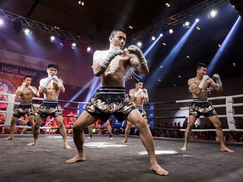 Các võ sĩ Muay chuyên nghiệp hàng đầu châu Á sẽ đến Việt Nam dự LEEP.ASIA