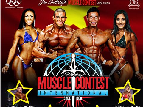 Việt Nam sẽ lần đầu tổ chức Muscle Contest vào tháng 8 tới