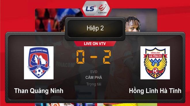 Quảng Ninh 0-2 Hà Tĩnh: Rợn người với tình huống Hải Huy gãy chân