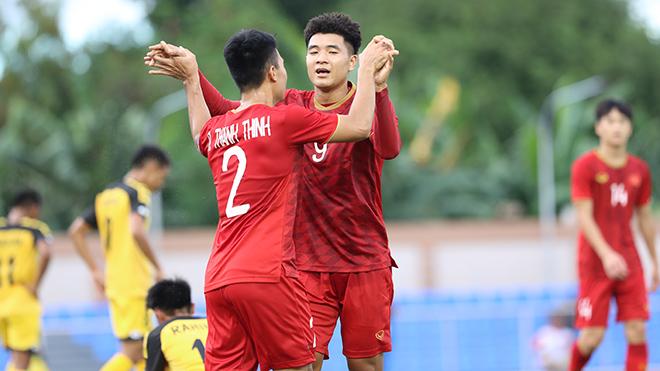 Hà Đức Chinh, ngôi sao sáng nhất của U22 Việt Nam ở trận mở màn SEA Games 30