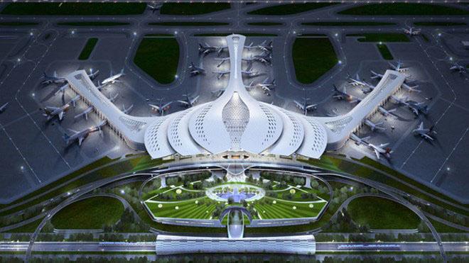 VIDEO: Nhà ga sân bay Long Thành sẽ mang hình bông sen cách điệu